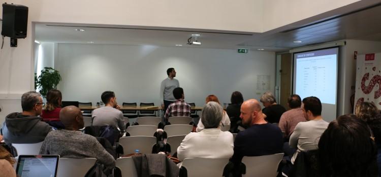 Sessões de Seminários Doutorais sobre Análise de Conteúdo Quantitativa e Endnote