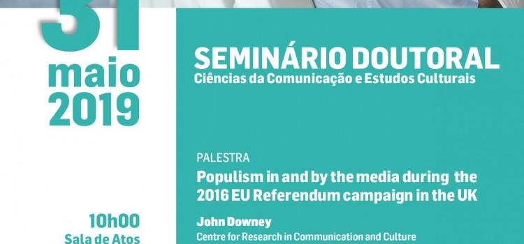 4º Seminário doutoral de Ciências da Comunicação e Estudos Culturais