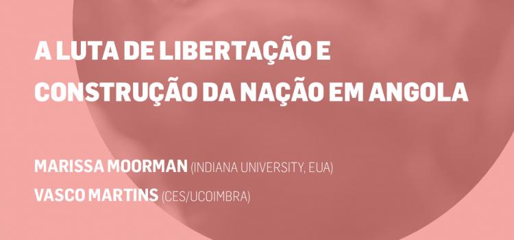 """Seminário sobre """"A luta de libertação e construção da nação em Angola"""""""