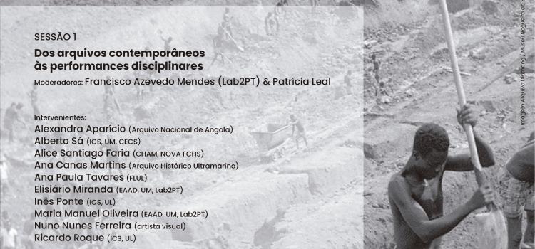 Ciclo de Conferências e Mesas Redondas: Interpelações a partir d' O Silêncio da Terra. Visualidades (pós)coloniais intercetadas pelo arquivo Diamang